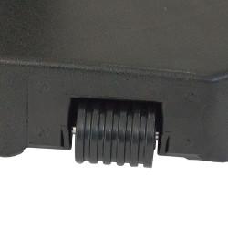 PLAID MICROFIBRE 125X150CM Gris clair