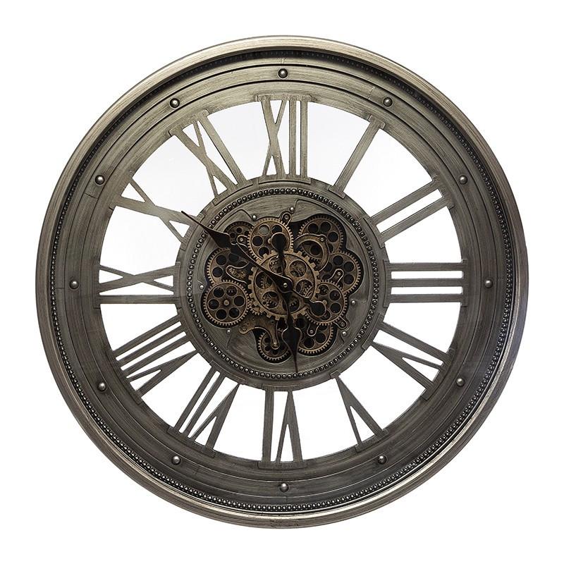 Horloge méca ronde D80...