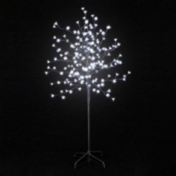 Arbre lumineux 200 LED roses
