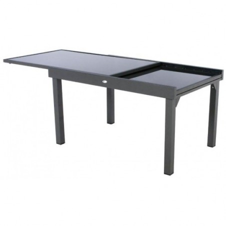 10 Anthracitegraphite Table Piazza Hespéride Extensible Personnes Nnym80wvO
