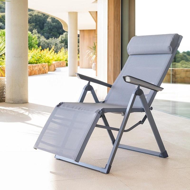 chaise longue pour aménagement piscine hors sol