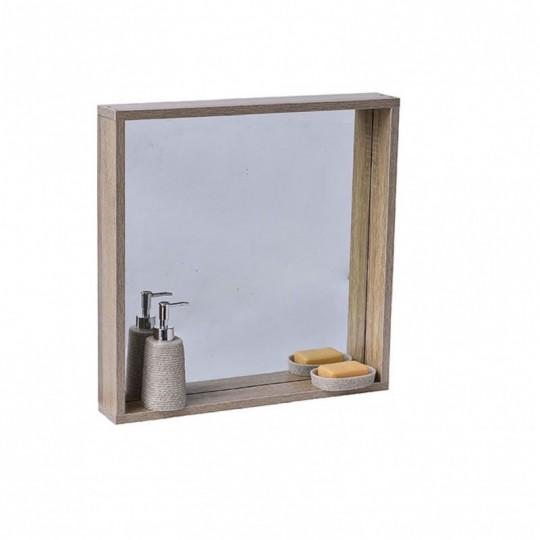petite etagere salle de bains amenagement